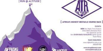 Africa's Highest Obstacle race - The Air Up There